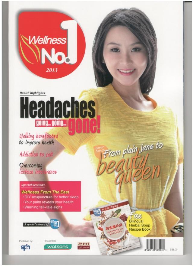 Wellness no. 1 cover