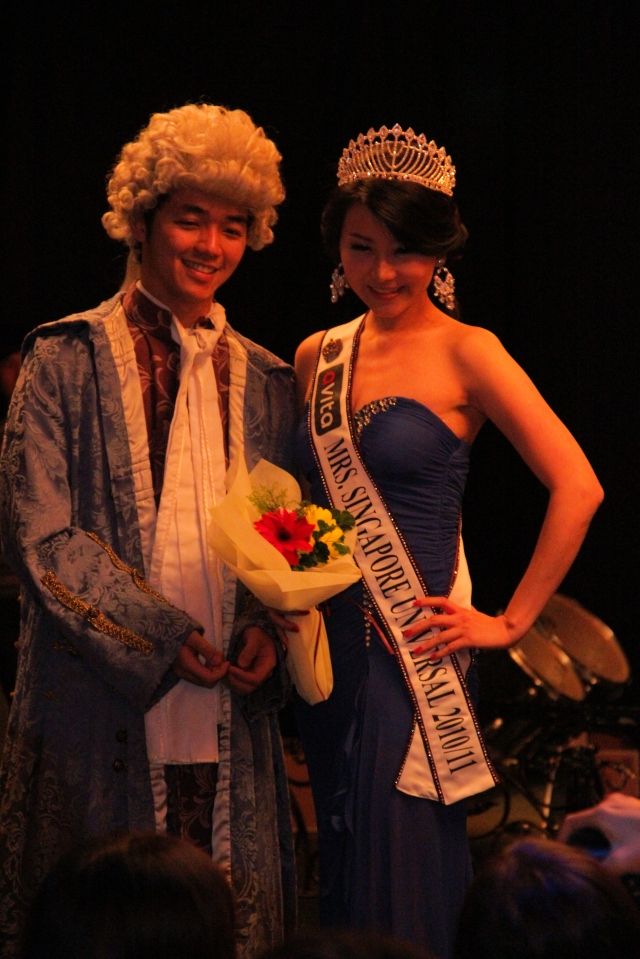 tiffiny yang with SCBE president Aaron