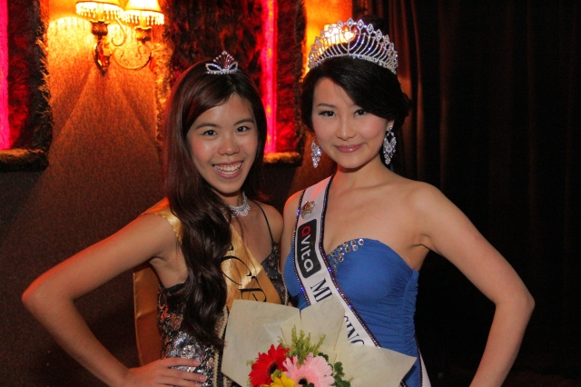 tiffiny yang with SCBE Queen Jean
