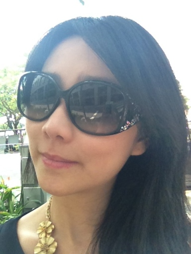 tiffiny yang in Dior sunglass