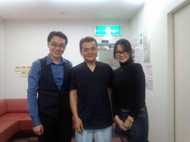 with Dr Akihiro Minami