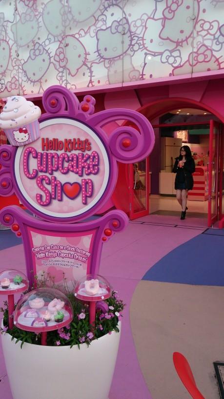 Hello Kitty Cupcake shop