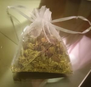 my aromatherapy souvenir from Hashani spa