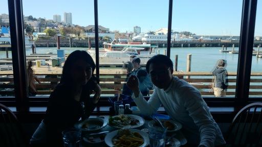 dining at Pier 39