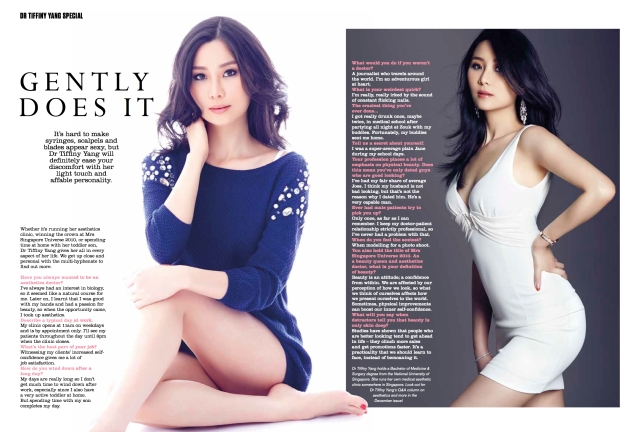 tiffiny yang on fhm