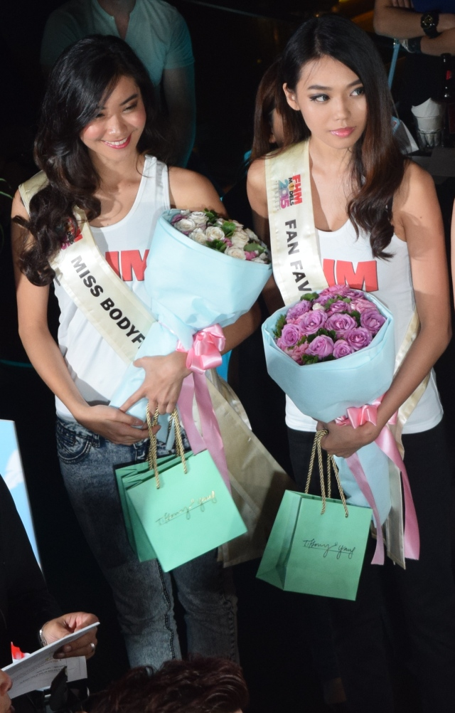 Sherine and Michelle, the top 2 winners. Aren't they pretty? :)