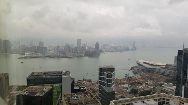 Shangri-la Horizon Club level room view
