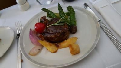 having beef steak miles up in the air!