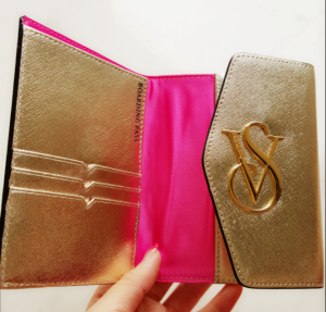 victoria secret passport inside cover