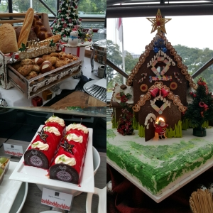 Christmas lunch at Swissotel Stamford