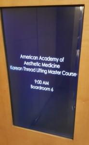 AAAM threadlift workshop