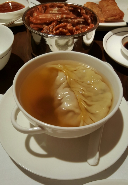 Star dish: Deluxe dumpling with abalone in supreme soup.